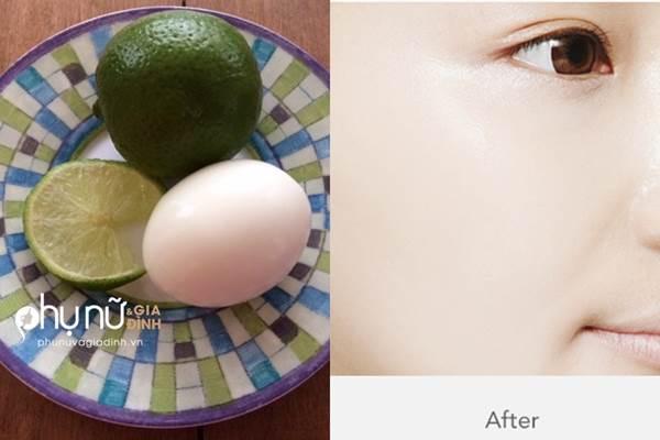 Cách làm trắng da sau một đêm của gái Hàn chỉ với 1 quả chanh và 1 quả trứng - Ảnh 1