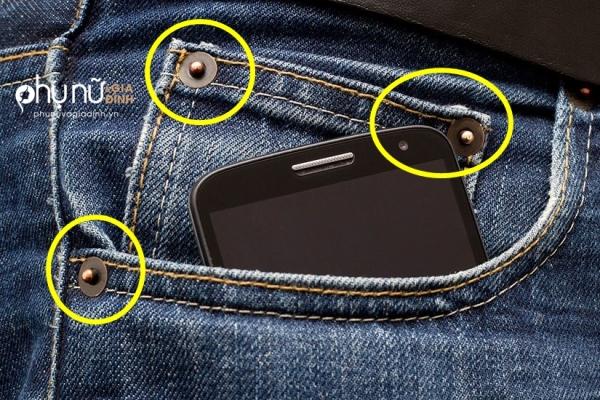 90% người mặc quần Jeans không biết được công dụng cực hay ho của 3 chiếc nút này