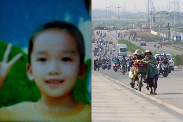 Quá nhớ mẹ, bé gái 9 tuổi một mình đạp xe gần 50km đi tìm