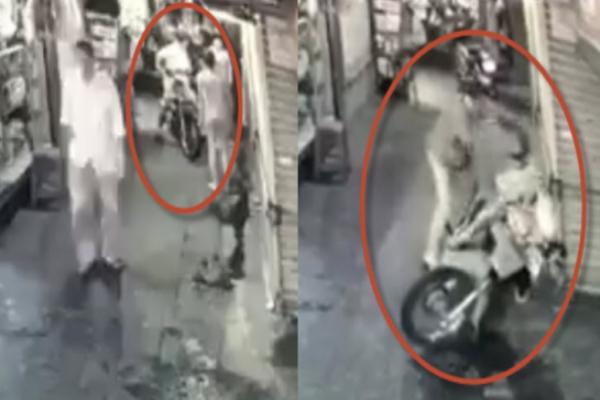 Clip thanh niên ở Sài Gòn bị đâm dao tới tấp sau va chạm xe máy