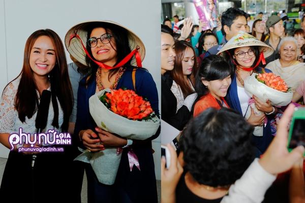 Nữ chính Anandi của 'Cô dâu 8 tuổi' bị vây kín tại sân bay Tân Sơn Nhất