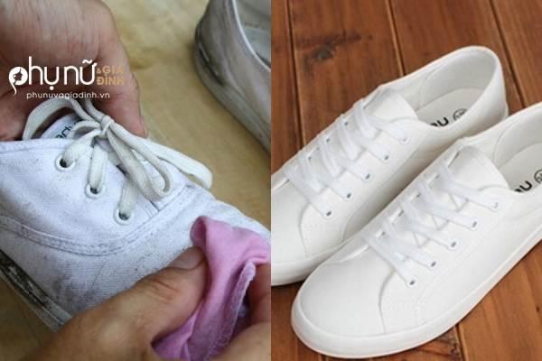 Đi giày cả đời mà không biết 6 mẹo giữ giày trắng tinh như mới này thì quá uổng phí