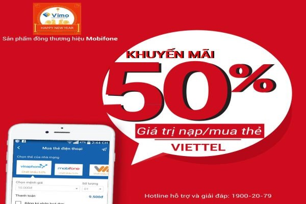 Ngày 08/02/2017 Vittel khuyến mãi giảm giá 50%