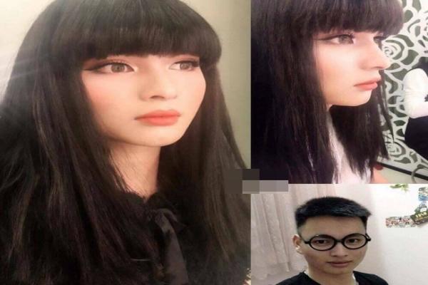 Chàng trai gây sốt với màn 'biến hình' thành con gái xinh xuất sắc nhờ make-up