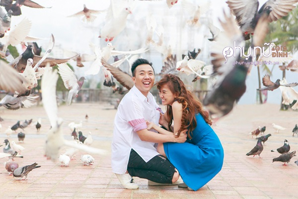 Hariwon tung ảnh cực lãng mạn bên ông xã Trấn Thành trong MV mới