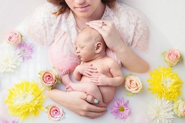 Trào lưu chụp ảnh bầu với em bé đang được các mẹ yêu thích