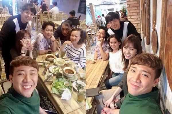 Đi ăn quán Trường Giang mới mở về, Trấn Thành – Hari Won liền nhận xét choáng