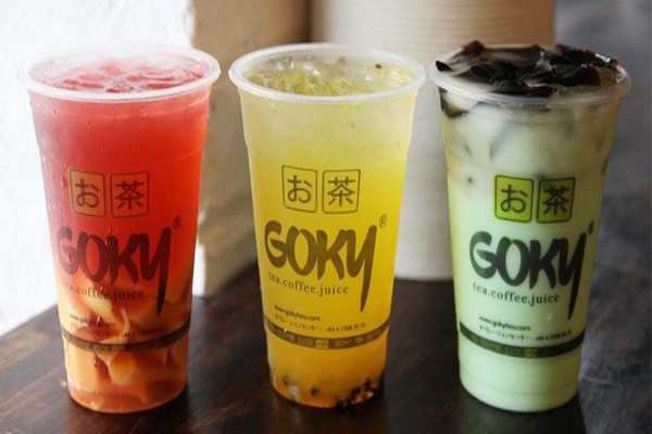 Từ ngày 12/04 -16/04/2017, Goky Tea giảm giá 30% toàn bộ trà sữa
