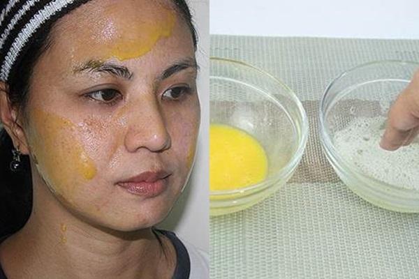 """Lỗ chân lông """"không bao giờ to nổi"""" nhờ trộn chanh với trứng, da trắng mịn ngay sau khi đắp xong mặt nạ"""