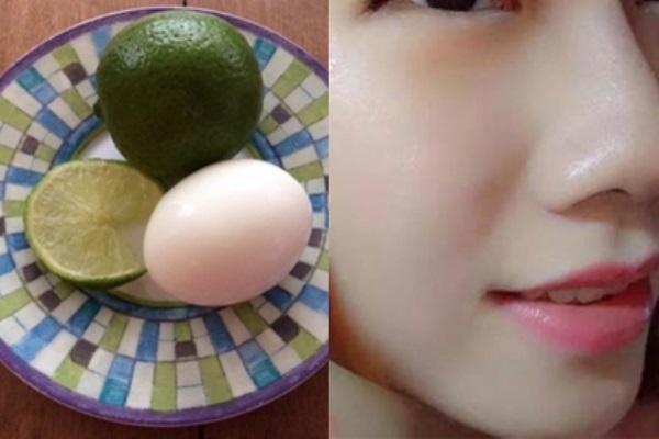 Bận rộn lại lười làm đẹp, chỉ cần công thức từ 1 quả chanh + 1 quả trứng đủ để làn da trắng, mịn màng bất ngờ