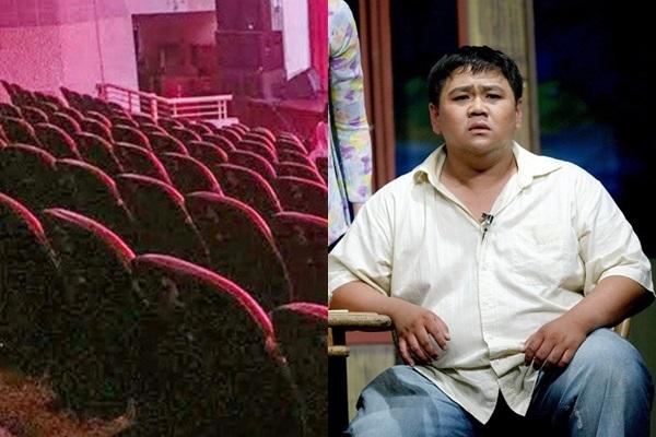 Minh Béo bị tẩy chay, sân khấu không khán giả trong ngày diễn lại