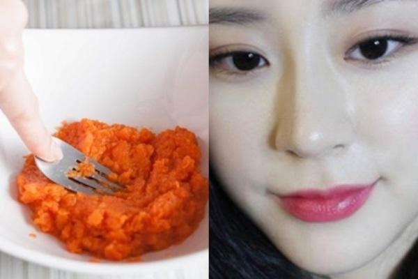 Đắp mặt nạ cà rốt mỗi ngày, đẩy lùi lão hóa đến 10 năm
