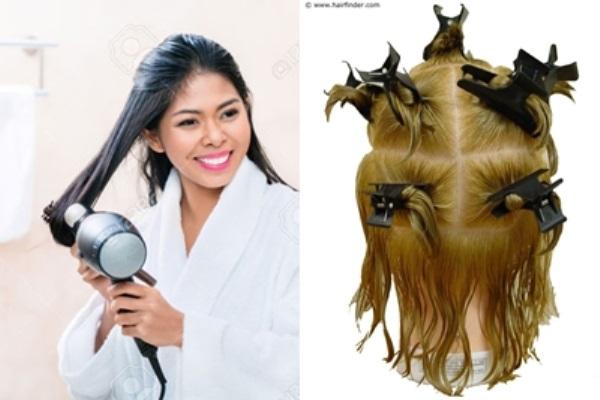 Hầu hết các cô gái đều sấy tóc sai cách mà không hề biết