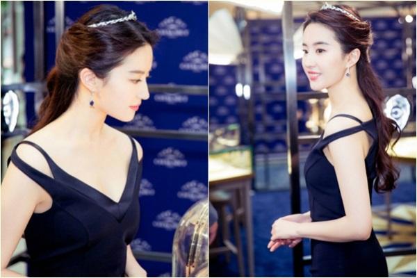 Lưu Diệc Phi khiến khán giả ngưỡng mộ vì đẹp không tì vết