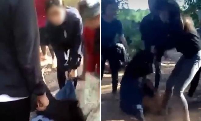 Nữ sinh lớp 9 bị 11 người hành hung từ nhà ra đường đến ngất xỉu, thủng màng nhĩ