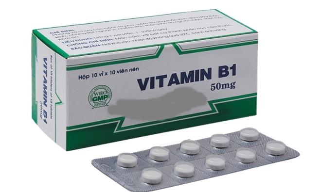 Uống vitamin B1 có tác dụng gì?