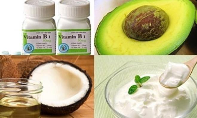 Dùng vitamin B1 trị mụn, da hết mụn trắng sáng mịn màng