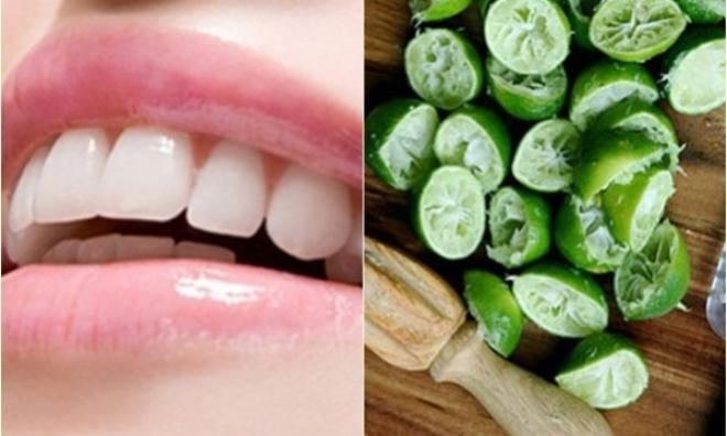 Tẩy trắng răng trong vài phút với vỏ cam, vỏ chanh