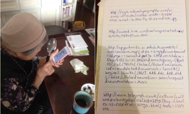 Chùm ảnh người già và công nghệ: vừa buồn cười vừa đáng yêu