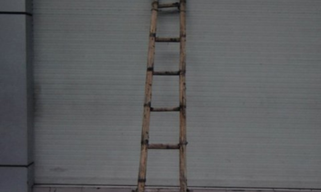 Tôi chết đứng khi biết mục đích của chiếc thang tre dựng cả năm nay bên tường nhà hàng xóm