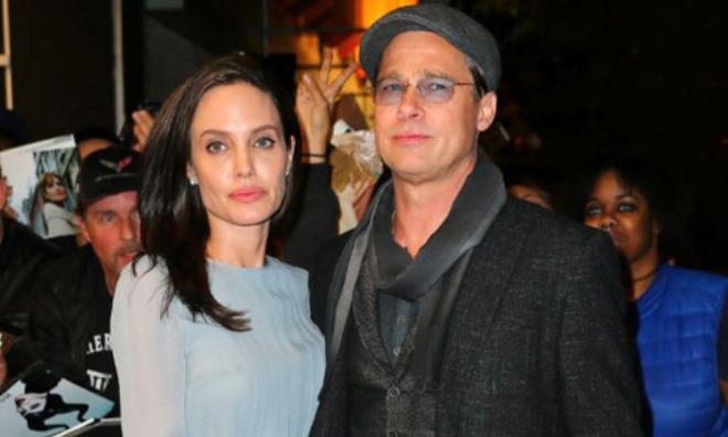 Angelina Jolie bí mật gặp Brad Pitt tại khách sạn gần nhà cũ