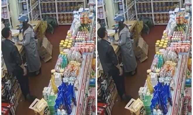 Bắt tại trận nữ 'ninja' giả làm khách mua đồ để trộm sữa
