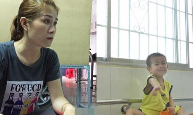 Mẹ bé trai 2 tuổi bị bỏ rơi: 'Bin bị người lạ đem đi nhưng nghèo quá nên tôi không đi tìm'