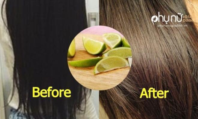 Độc chiêu nhuộm tóc nâu bằng chanh, đẹp long lanh lại không lo hóa chất