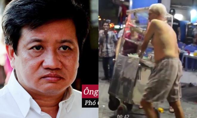 Cụ ông 80 tuổi giật xe hàng rong từ lực lượng dẹp vỉa hè: Ông Đoàn Ngọc Hải lên tiếng