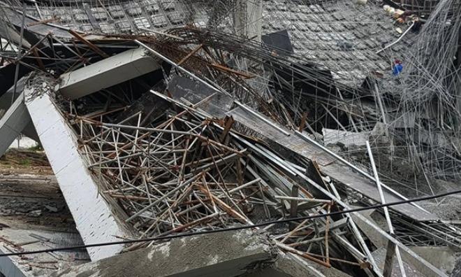 Vụ sập trường mầm non Vườn Xanh: Lời kể thót tim của bảo vệ chứng kiến vụ việc