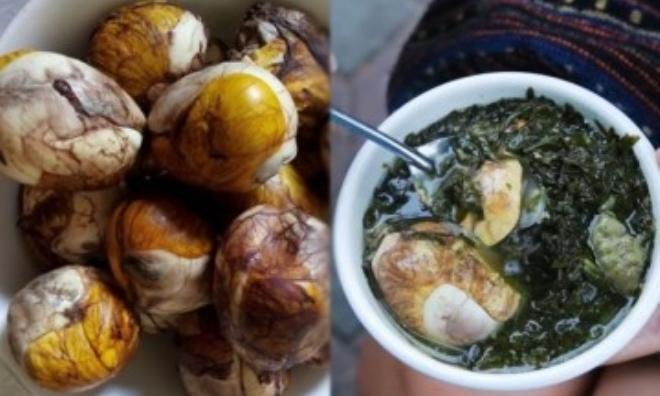 Tăng cân siêu tốc nhờ ăn 1 quả trứng vịt lộn hầm ngải cứu mỗi ngày