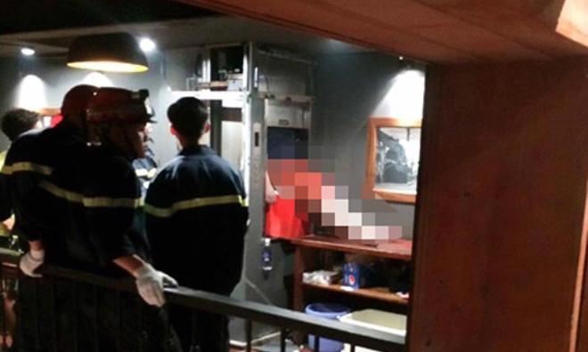 Nam thanh niên tử vong vì kẹt đầu trong thang máy