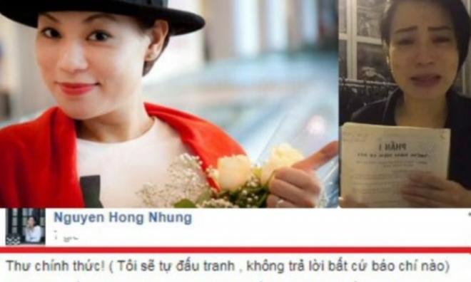 Vợ Xuân Bắc phản ứng mạnh về kết luận của trường CĐ Nghệ thuật HN