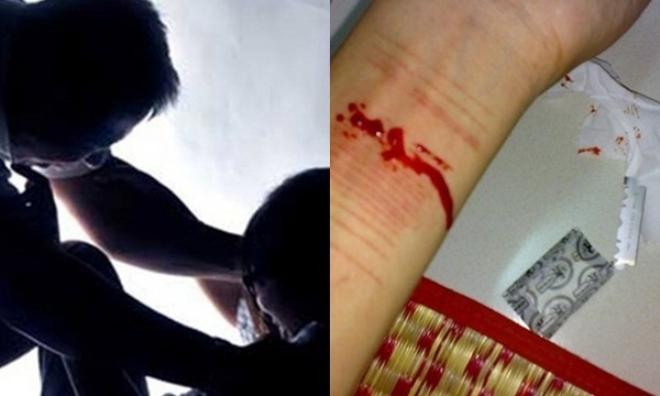 Phẫn nộ: Bị cha ruột liên tục cưỡng bức, bé gái 14 tuổi cắt cổ tay tự tử