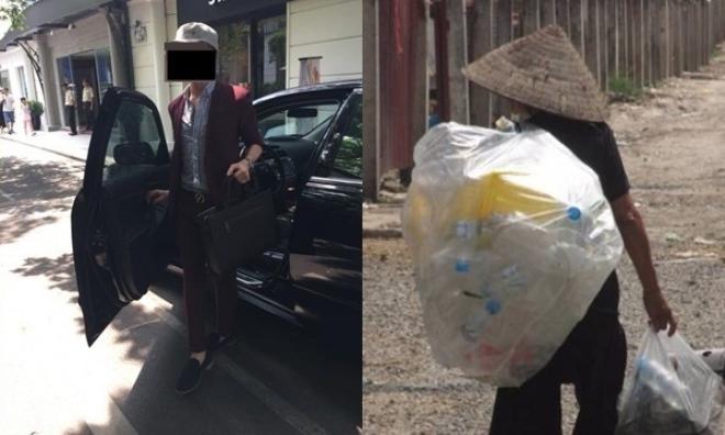 Bắt gặp mẹ bạn gái đang nhặt rác đói lả bên đường, chàng trai bước xuống ô tô làm một việc khiến ai cũng câm nín