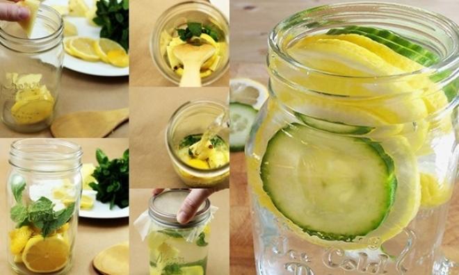 6 công thức nước thanh lọc cơ thể giúp giảm cân dễ dàng hơn