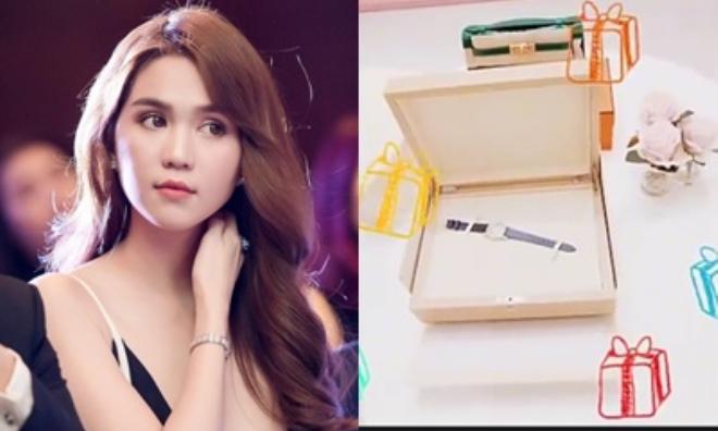 Sinh nhật tuổi 28, Ngọc Trinh khoe đồng hồ nạm kim cương lấp lánh, trị giá cả tỷ đồng khiến dân mạng 'lác mắt'