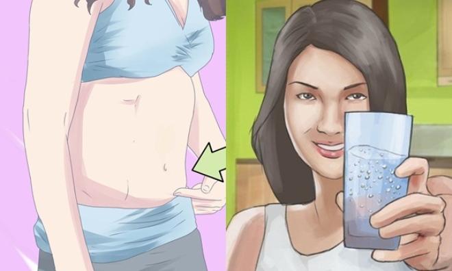 Uống nước đúng thời điểm giảm liền 7kg trong 2 tuần