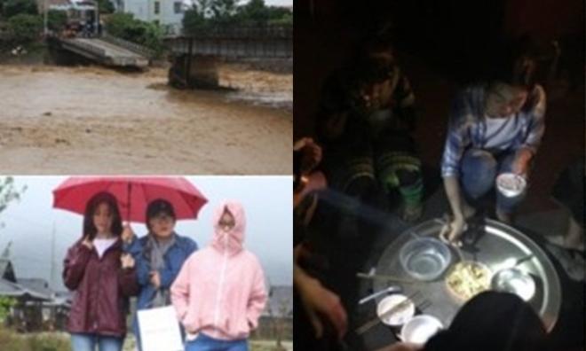 Hoa hậu Đỗ Mỹ Linh bị cô lập, mất liên lạc khi tham gia dự án từ thiện tại vùng lũ quét Yên Bái