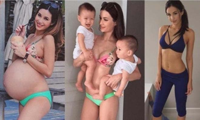 Người mẫu nổi tiếng 'kiêm'... mẹ bỉm sữa hot nhất MXH tiết lộ cách lấy lại dáng sau sinh: Mỡ biến mất sau 3 tuần chỉ với bài tập siêu dễ