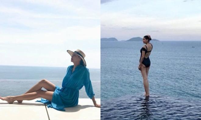 Ở tuổi U50, Hoa hậu 3 con Hà Kiều Anh rạng rỡ đi nghỉ dưỡng cùng con gái khiến chị em ghen tỵ