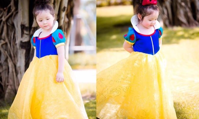 Con gái Elly Trần hóa thân thành công chúa Bạch Tuyết khiến ai nấy đều ngỡ ngàng không thể rời mắt