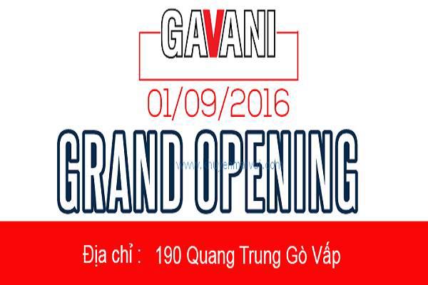 Từ ngày 30/08 - 10/09 Gavani Quang Trung 2 khuyến mãi khai trương đồng giá từ 79k - Ảnh 1
