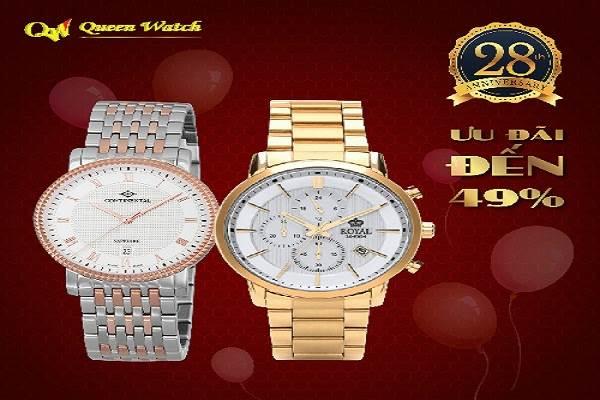 Chương trình giảm giá lớn mừng sinh nhật Queen Watch - Ảnh 1