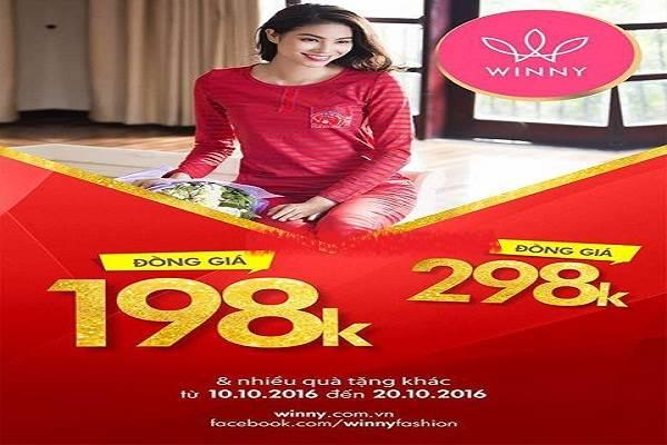 Từ ngày 10 - 20/10 thời trang Winny khuyến mãi đồng giá từ 198.000 đồng - Ảnh 1