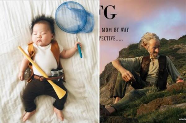 Bé gái 4 tháng tuổi nổi tiếng vì đóng giả nhân vật phim lúc ngủ - Ảnh 3