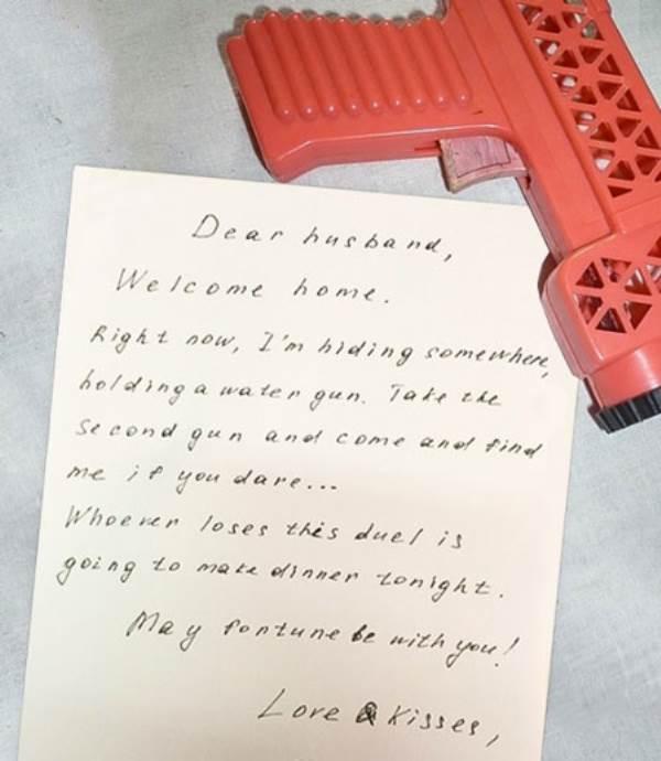 Những lời nhắn bá đạo vợ gửi cho chồng - Ảnh 1
