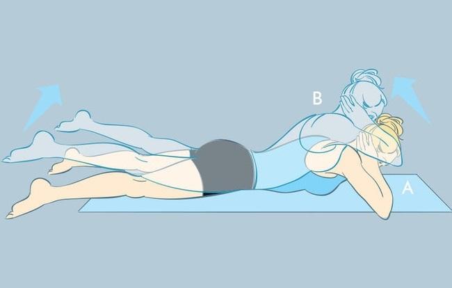 5 động tác thể dục đơn giản giúp bạn nhanh chóng có được  vòng 2 phẳng lì - Ảnh 4