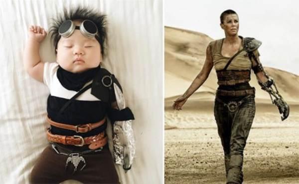 Bé gái 4 tháng tuổi nổi tiếng vì đóng giả nhân vật phim lúc ngủ - Ảnh 9