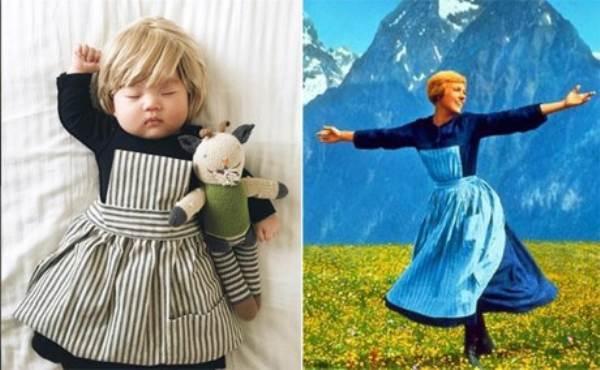 Bé gái 4 tháng tuổi nổi tiếng vì đóng giả nhân vật phim lúc ngủ - Ảnh 10
